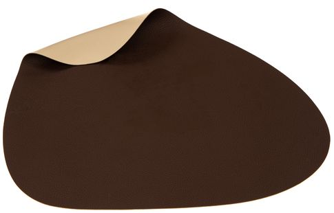 Jay Hill Placemat Leer Bruin Zand