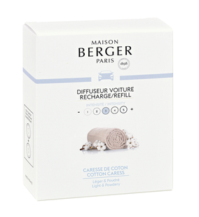 Maison Berger autoparfum Cotton Caress