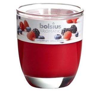 Bolsius geurkaars in glas Aromatic Berry Delight 120/100 mm