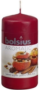 Bolsius stompkaars Aromatic Baked Apple 120/60 mm sfeer