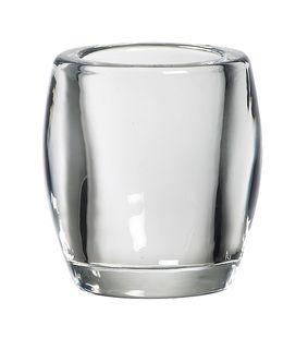 Bolsius theelichthouder glas transparant