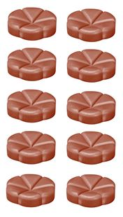 Bolsius geurchips Creations Sandalwood - 10 stuks