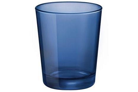 Bormioli glas Castore donkerblauw
