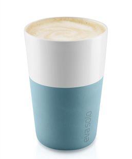 Eva Solo Cafe Latte Mok Arctic Blue 36 cl - 2 Stuks