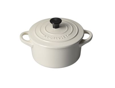 Le Creuset mini braadpan creme