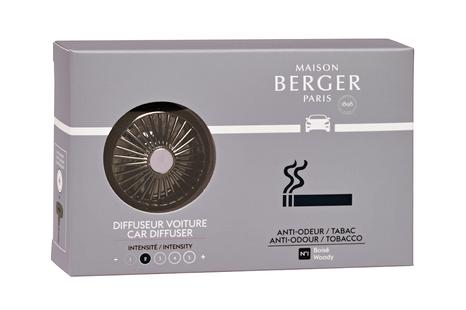Maison Berger auto diffuser Anti-Odour tabaksluchtjes