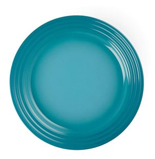 Le Creuset ontbijtbord caraïbisch blauw Ø 22 cm