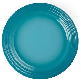 Le Creuset dinerbord caraïbisch blauw Ø 27 cm