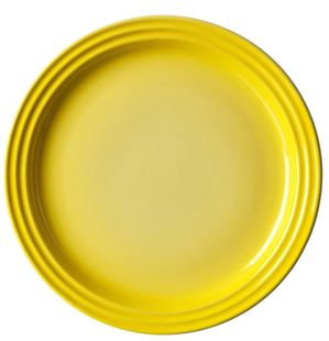 Le Creuset dinerbord geel Ø 27 cm