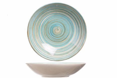 Cosy & Trendy diep bord Turbolino blauw