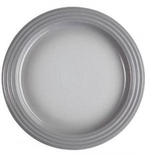 Le Creuset dinerbord grijs Ø 27 cm