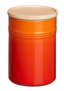 Le Creuset voorraadpot oranje-rood 2.1 liter
