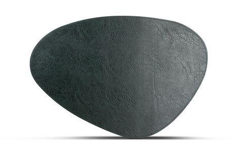 Salt Pepper Placemat Kunstleer Groen 47 x 32 cm