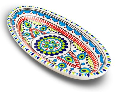 Dishes_Deco_Ovale_Schaal_Pavo