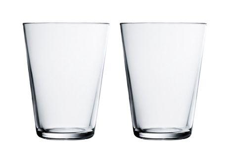 Iittala Kartio glas 40cl helder - 2 stuks