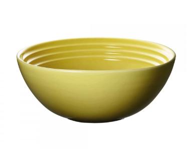 Le Creuset ontbijtkom geel Ø 16 cm