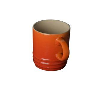 Le Creuset espresso kopje oranje-rood 7 cl
