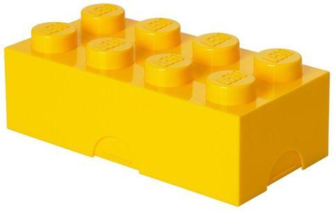 LegosteenLunchboxGeel