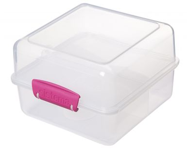 Sistema Lunchbox To Go Cube Roze