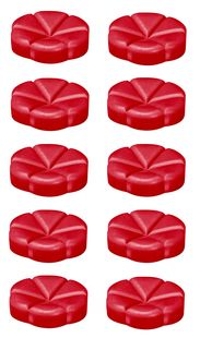 Bolsius geurchips Creations Velvet Rose - 10 stuks