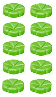 Bolsius geurchips Creations Green Apple - 10 stuks