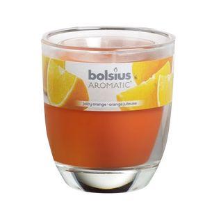 Bolsius geurkaars in glas Aromatic Juicy Orange 80/70 mm