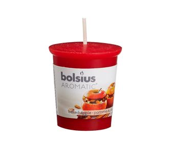 Bolsius geurkaarsje Aromatic Baked Apple 53/45 mm