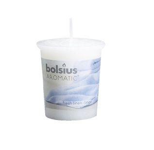 Bolsius geurkaarsje Aromatic Fresh Linen 53/45 mm