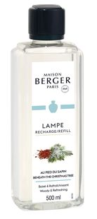 lampe-berger-navulling-beneath-christmas-tree