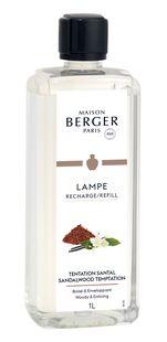 Lampe Berger Navulling Sandalwood Temptation 1 liter