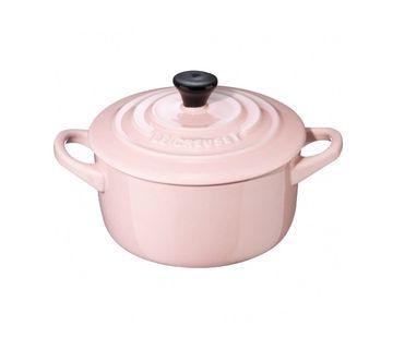 Le Creuset mini braadpan roze