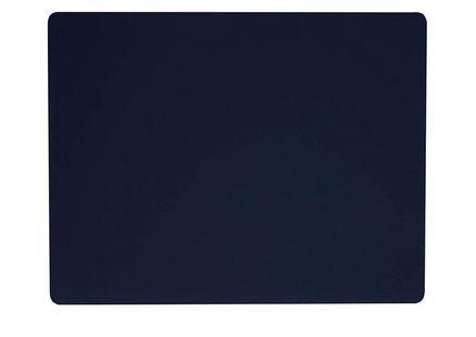 lind-dna-placemat-softbuck-donkerblauw-rechthoekig