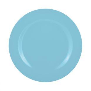 Zak! Designs Dinerbord Melamine Lichtblauw