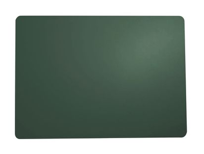 ASA Selection Placemat Leer Donkergroen 33 x 46 cm