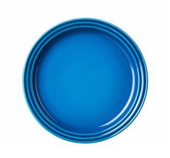 Le_creuset_ontbijtbord_blauw