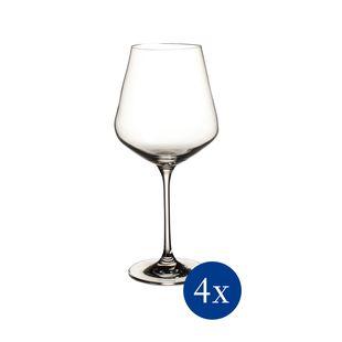 Villeroy & Boch La Divina rode wijnglas - 4 stuks