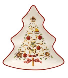 Villeroy & Boch Winter Bakery Delight schaal - kerstboom