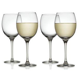 Alessi Mami XL witte wijnglas 45cl - 4 stuks