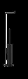 Decor Walther Mikado toiletbutler - mat zwart