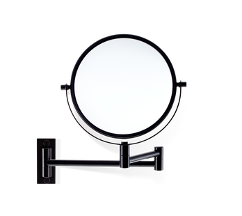 Decor Walther make-up spiegel SPT 33 wandmodel 5x/1x mat zwart