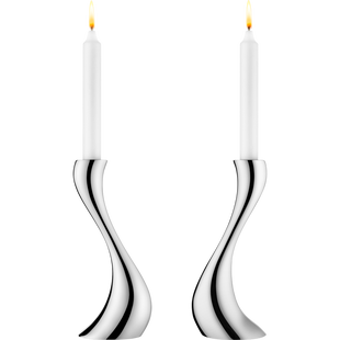 Georg_Jensen_Cobra_kandelaar_medium_set_van_2