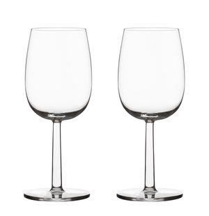 Iittala Raami witte wijnglas 28cl - 2 stuks