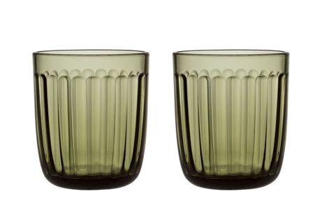 Iittala Raami glas 26cl - zeeblauw - 2 stuks