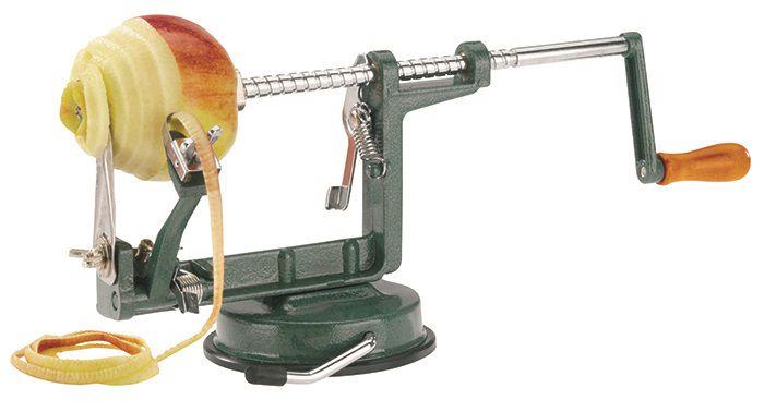 Appelschilmachine