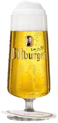 Bitburger Biergläser