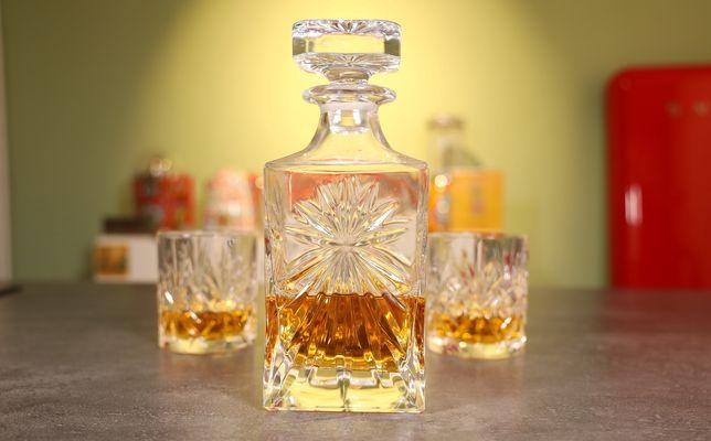 De verschillende Whisky Karaffen