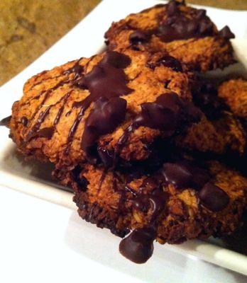 Havermout koekjes met cranberry en cacao nibs