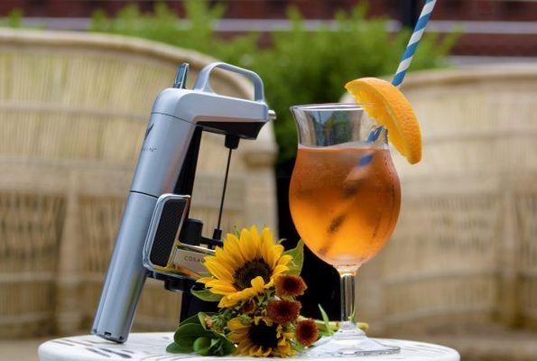 Witte wijn cocktail