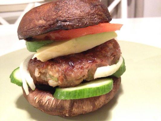 Paleo hamburgers