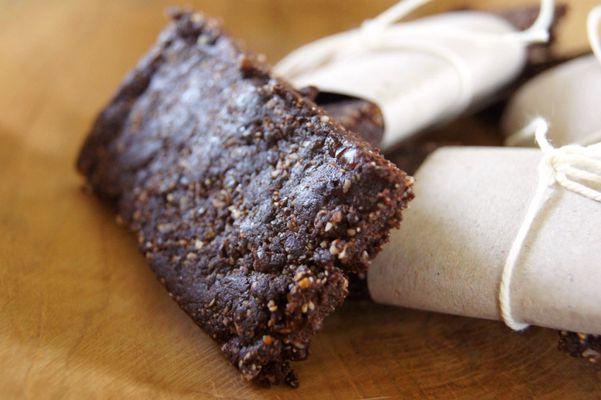 Suikervrije chocolade energie reep
